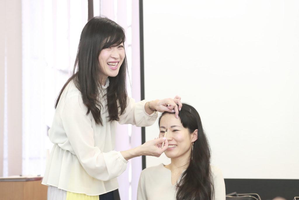メイクアップアーティスト星 泰衣さん インタビュー3